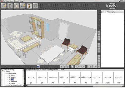 Decorar interiores con furnish for Programa para decorar interiores online